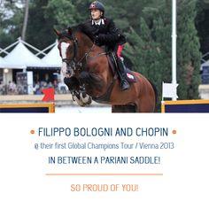 Filippo Bologno - testimonial Pariani