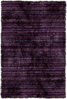 Rosenberry Rooms has everything imaginable for your child's room! Share the news and get $20 Off  your purchase! (*Minimum purchase required.) Savona Purple Stripe Shag Rug #rosenberryrooms