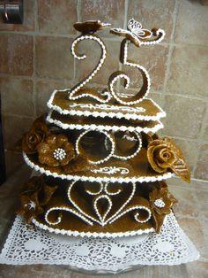 3 D, Crochet Earrings, Birthdays, Cookies, Cake, Desserts, Crack Crackers, Cakes, Anniversaries