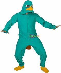 Perry Platypus Footie Pajamas