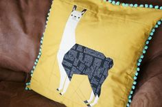 Leonard the Llama (Paper Pieced) pattern