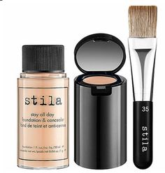 Stilla all day foundation - Just bought this recently.. Concealer is in the cap and foundation in the bottle