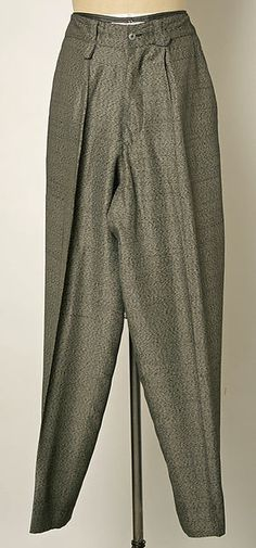 Trousers, Jean Paul Gaultier, ca. 1984, French, rayon