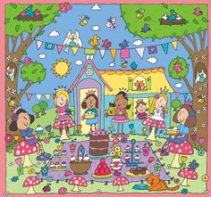 Children Jigsaw Puzzle Fairy Illustration