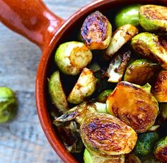 These tasty little cabbages are coated with a sal… Miso Roasted Brussels Sprouts. These tasty little cabbages are coated with a salty sweet glaze and each bite is an umami flavor bomb! Healthy Side Dishes, Side Dish Recipes, Veggie Recipes, Whole Food Recipes, Vegetarian Recipes, Healthy Recipes, Savoury Recipes, Asian Recipes, Easy Recipes