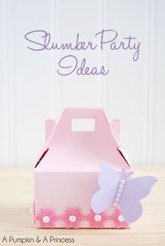 Slumber Party Ideas With Free Printables