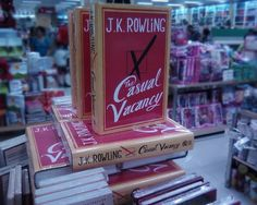 J.K. Rowling, The Casual Vacancy. NBS Iloilo, Philippines #books The Casual Vacancy, Iloilo City, Philippines, Books, Image, Libros, Book, Book Illustrations, Libri
