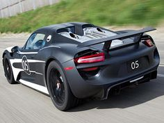 2013 Cars Coming Out | Supercar Design: 2013 Porsche Sport Cars Prototype 918 Spyder