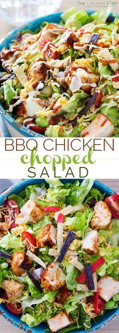 BBQ Chicken Salad |