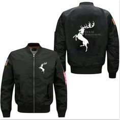 """""""Ours is the Fury House Baratheon of Storm's End""""Jackets"""