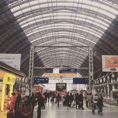 #Frankfurt Main Station #travel #europe #oneeurope #wanderlust