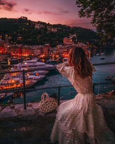 Portofino Travel Guide - portofino port at night // Notjessfashion.com