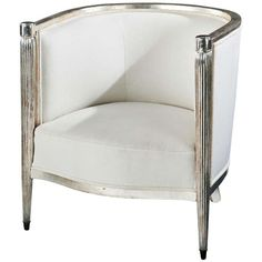 Fine French Art Deco Giltwood Bergere, circa 1920