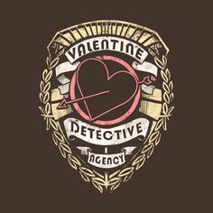 Check out this awesome 'Valentine+Detective+Agency' design on @TeePublic!