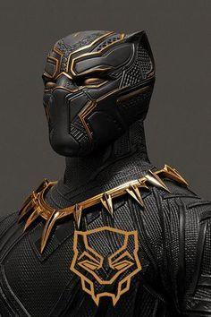 Black Panther and - Marvel Comics Black Panther Marvel, Black Panther Art, Black Art, Marvel Comics, Marvel Heroes, Marvel Avengers, Captain Marvel, Film Black, Bastet