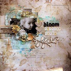 Bloom Through Storm by Riikka Kovasin for 7 Dots Studio