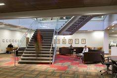 Gould Evans - Law Commons Renovation (Roland Bishop Photography)