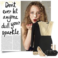 """Don't Ever Let Anyone Dull Your Sparkle"" by jafashions on Polyvore"