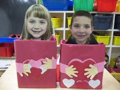 valentine box with picture