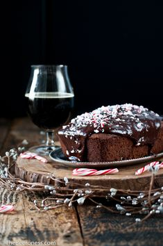 Chocolate Stout Candy Cane Cake & Christmas Beers