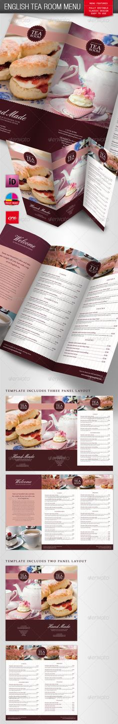 Customize Coffee Shop Menu ideas for workers at bakery - coffee shop brochure template