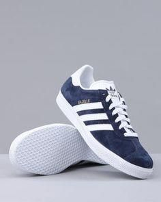 ae5b70fc105b Adidas NAVY Gazelle Sneakers (mens) - from my Britpop phase
