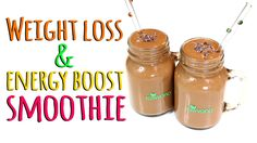 CHOCOLATE WEIGHT LOSS SMOOTHIE!