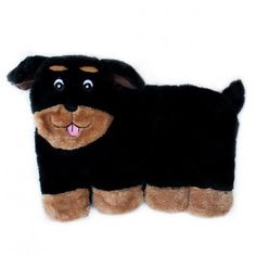 Buy ZippyPaws products at Luckypet Supplies Online such as Squeakie Pup - Rottweiler Squeaker Dog Toy. Designed for dogs that love to squeak! Rottweiler Love, Bulldog Breeds, Pet Steps, Interactive Dog Toys, Dog Games, Pet Paws, Yorkie, Fur Babies, Your Pet