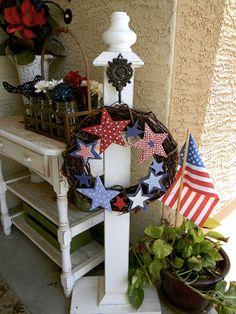 Little Bit of Paint: 4th of July Porch