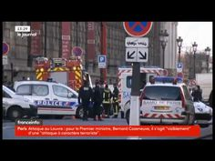 "PARIS : ATTAQUE AU LOUVRE AU CRIS D'""ALLAH AKBAR"" - YouTube"