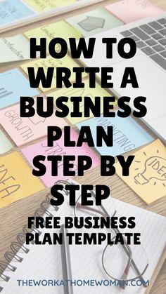 Free Business Plan, Writing A Business Plan, Business Advice, Business Motivation, Business Entrepreneur, Online Business Plan, New Business Ideas, Template For Business Plan, Beauty Entrepreneur Ideas