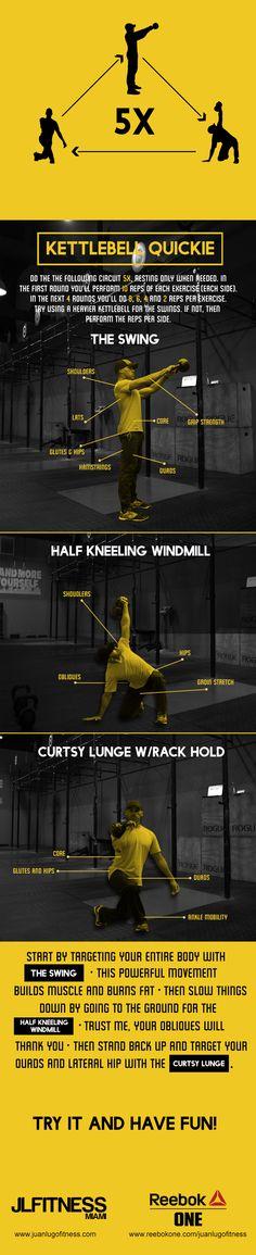 Kettlebell Quickie #1- Workout