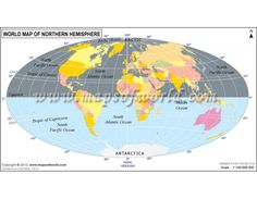 Buy world atlas maps world map store buy world map of northern hemisphere online gumiabroncs Image collections