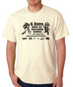 Retro videogames exhibition T-Shirt, my own design.