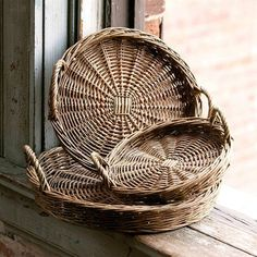 This set of 3 willow trays make the perfect wall decor, wreaths, and even centerpieces.  Type www.decorsteals.com into your browser to unlock this steal!