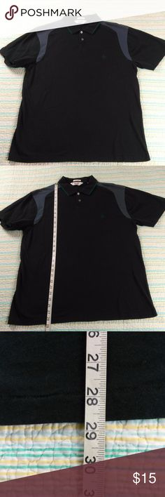 Original Penguin L Black Polo Shirt Classic Fit Original Penguin Mens Sz L Black Polo Shirt by Munsingwear Classic Fit Original Penguin Shirts Polos
