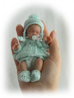 Reborn Toddler Dolls, Reborn Babies, Tiny Dolls, Soft Dolls, Dollhouse Dolls, Miniature Dolls, Mini Bebidas, Barbie Kids, Baby Mold