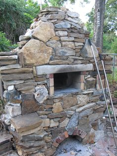 best outdoor brick pizza oven ever! | by a. graham