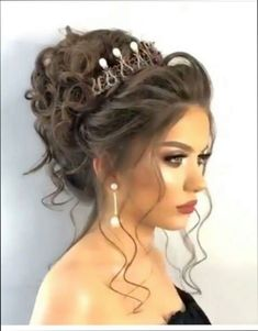 49 Ideas Wedding Hairstyles For Black Women Headpieces Beauty For 2020 - Page 3 of 31 - Wedding Dream - Vanesha O Jioda Sweet 16 Hairstyles, Quince Hairstyles, Bride Hairstyles, Wedding Hair And Makeup, Bridal Makeup, Bridal Hair, Hair Makeup, Hair Wedding, Boho Wedding