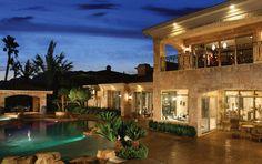 Unique Luxury Homes | Custom Estate Overlooking Golf Course, Las Vegas NV ...