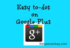 What Should I Do with Google Plus