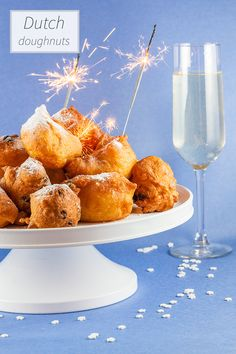"Happy new year! Here's our classic recipe for Dutch doughnuts, otherwise known as ""oliebollen"". Recipe for 15 pcs."