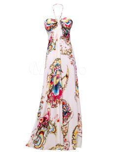 #vestido #largo, super chic para esta temporada