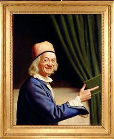 'Self-portrait Laughing', c. 1770