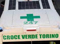 Presentata a Torino la prima ambulanza fotovoltaica italiana - Ambiente Bio