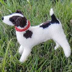Knitting Pattern For Jack Russell : Knitted animals, Springer spaniel and Knitting on Pinterest