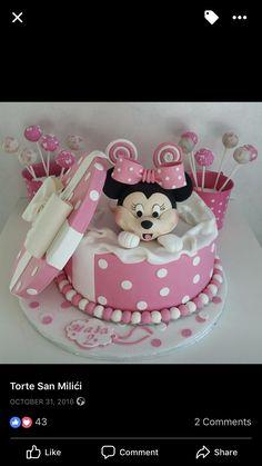 Maria de Los Angeles Castro Cakes Mickey Minnie Friends