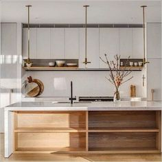 Scandinavian Interior Design, Interior Design Kitchen, Scandinavian Style, Kitchen Designs, Minimalist Scandinavian, Scandinavian Kitchen Interiors, Scandinavian Lighting, Flat Interior, Scandi Style