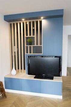 New door design ideas ikea hacks ideas Living Room Partition Design, Living Room Tv Unit Designs, Room Partition Designs, Room Partition Ikea, New Door Design, Interior Design Ikea, Divider Design, Hall Furniture, New Homes