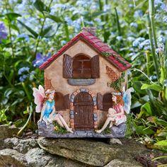 Ma Fée maison Toadstool Fée Porte-Jardin Figurine ornement Magic Décoration